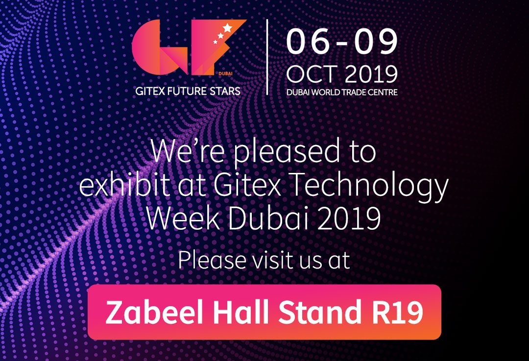 We are heading to Gitex Dubai